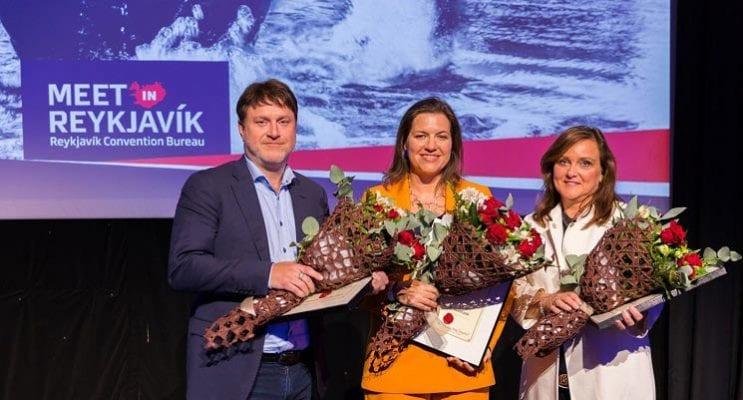 Reykjavík Honors Three MICE Ambassadors