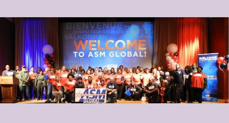 AEG Facilities & SMG Complete Merger to Create ASM Global