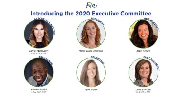 AWE Executive Committee 2020