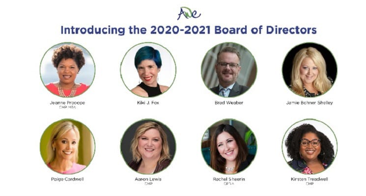 AWE Announces 2020-21 Board of Directors