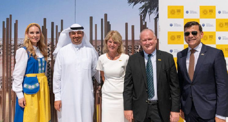 Camfil Sponsors Swedish Pavilion at Expo 2020