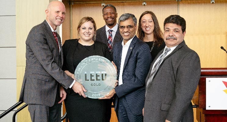 TCF Center Becomes the Largest LEED Certified Building in Michigan