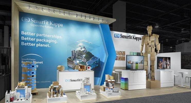Smurfit Kappa Exhibit Unveiled at Pack Expo