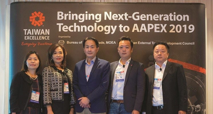 Taiwan Brings Advanced Technology to AAPEX
