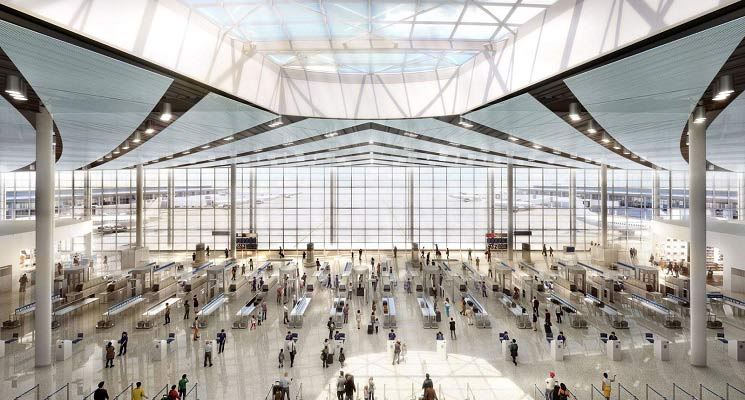 Airport Terminal among New Orleans Developments