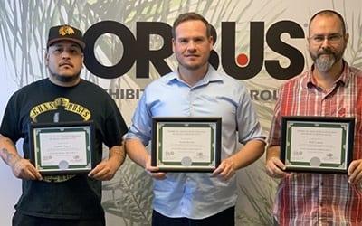 Orbus staff award