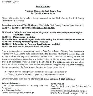 12.10.19 Public Notice Code Change