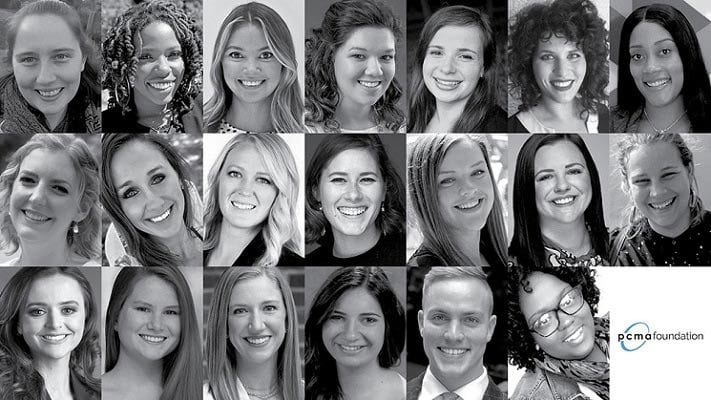 """PCMA Announces """"20 in Their Twenties"""" Class of 2020"""