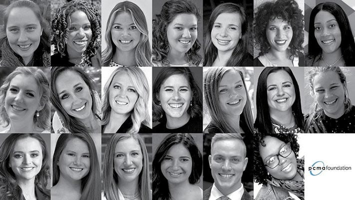"PCMA Announces ""20 in Their Twenties"" Class of 2020"