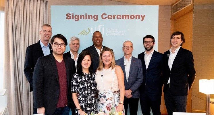 Freeman Signs as UFI Diamond Sponsor