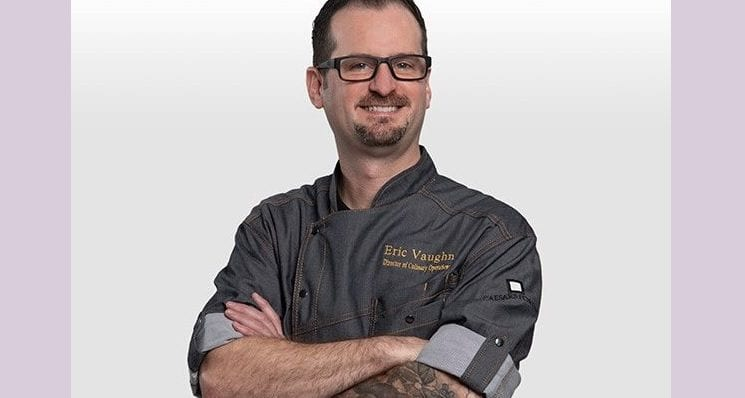 Eric Vaughn Named Dir. of Banquet Culinary Operations For CAESARS FORUM