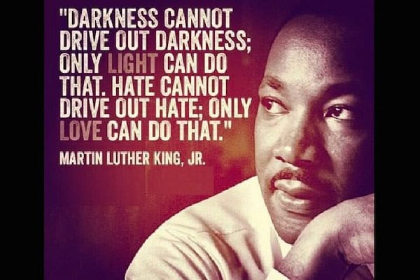 In Honor of Martin Luther King, Jr.