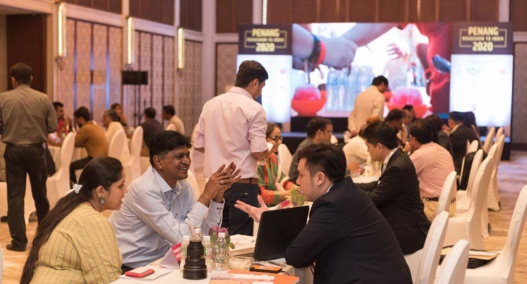 Penang Delegation Leads Road Show to India