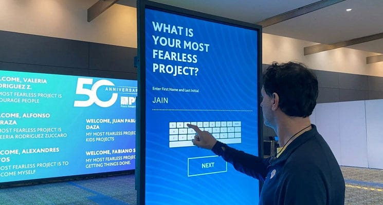 TLC Interactive App Engages Convention Guests