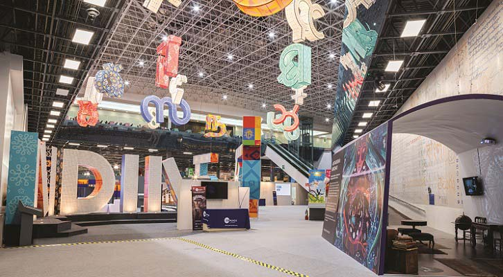 Shop to Showfloor: The Wow Booth: The Omega Group Wows at FIL Guadalajara with India Pavilion