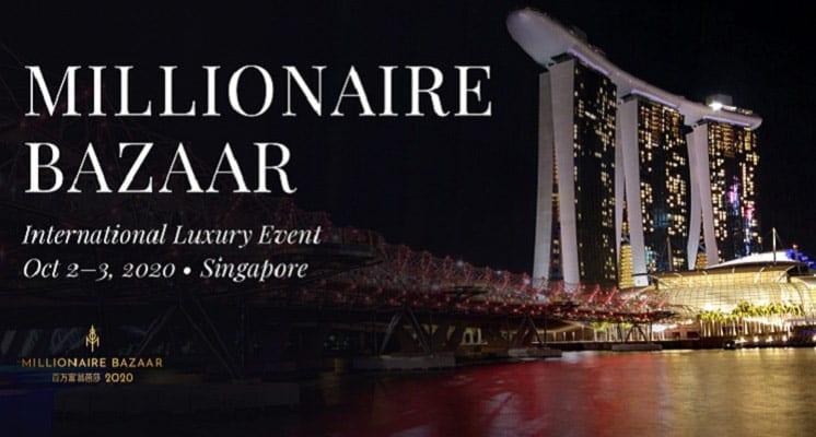 Millionaire Bazaar to Show Luxury Lifestyle in Singapore