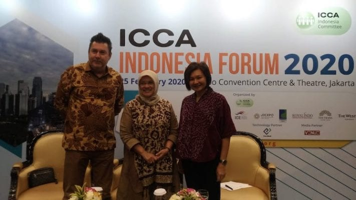 ICCA Indonesia Forum 2020 Empowers Indonesia's MICE Industry