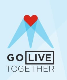 COVID Go Live Together logo