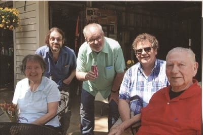 Don Bendickson family