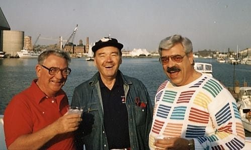 Don Bendickson with friends
