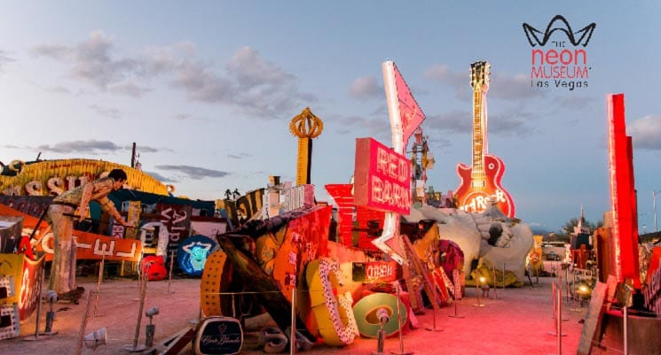 The Neon Museum's Boneyard Available as a Zoom Background
