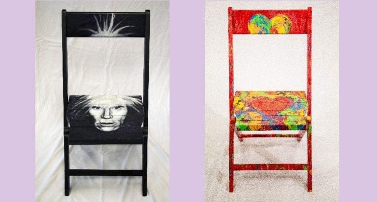 90 Painted Chairs Program Raises Awareness, Funds for Pittsburgh Artists