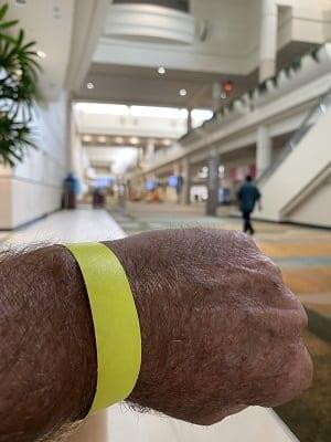 Jim Obermeyer wristband