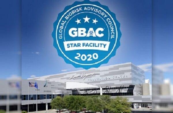 LVCC Receives GBAC STAR Accreditation