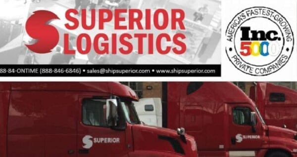 Superior Logistics Ranked 331 in the Inc. Top 5000