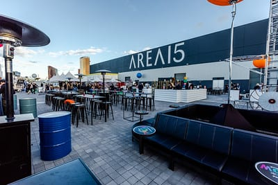Area 15 event space outdoor