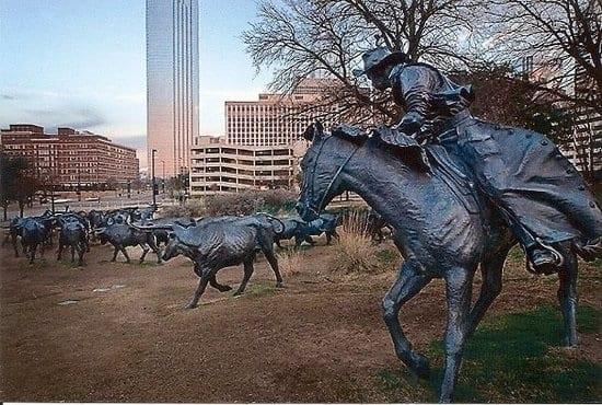 DEAL Pioneer Plaza cowboy