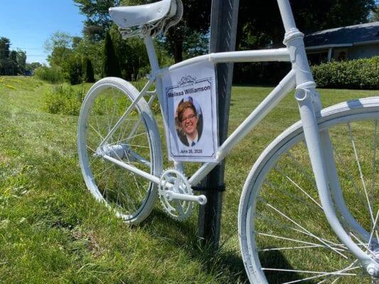 Ghost bike for Melissa
