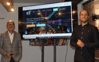 Lee Ali and Mike Pye E5 Interactive