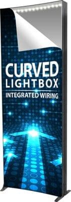 curved lightbox