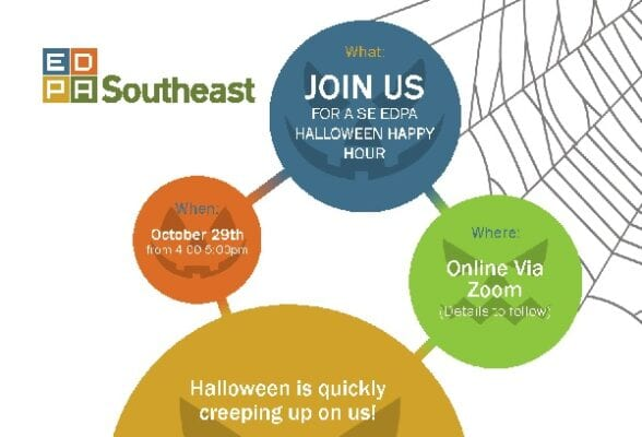 EDPA SE Hosts Online Halloween Happy Hour