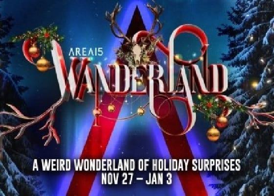 AREA15 Wanderland's Holiday Lighting Ceremony
