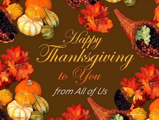 Thanksgiving-Wishes-to You from All of Us