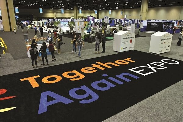 The Value of Carpet in a Tradeshow & Special Event Environment