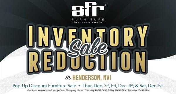 AFR Furniture Rental Inventory Reduction Sale