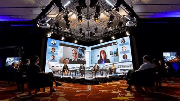 PCMA global broadcast studio