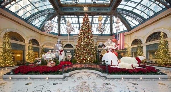 Bellagio's Conservatory Celebrates Christmas 24/7 Until Jan. 9